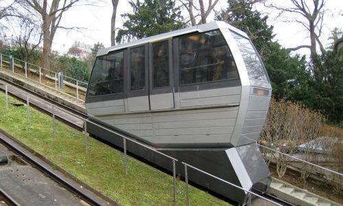 Funiculaire de Montmartre : freins de machinerie