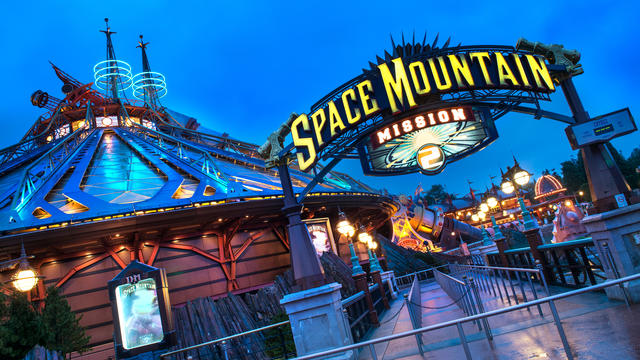 Systèmes de freinage et treuils (Disneyland - Space Mountain)