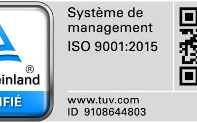 Aix-Hydro, certifiée Iso 9001