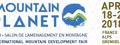 Rdv au Mountain Planet en avril 2018 !