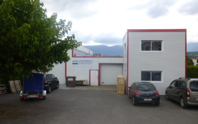 Aix-Hydro double sa surface d'atelier
