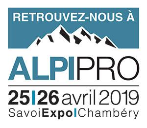 Aix-Hydro sera au Salon ALPIPRO, à Chambéry le 25 et 26 avril, Stand C10. Rejoignez-nous !