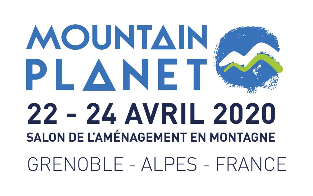 RDV au prochain Mountain Planet à Grenoble du 22 au 24 avril 2020, stand n°242.