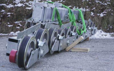 Usinage de pièces de sécurité pour remontées mécaniques